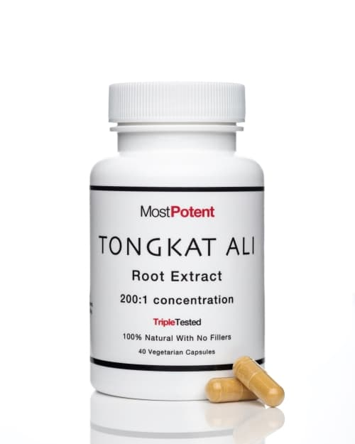 Most Potent Tongkat Ali Root Extract capsules