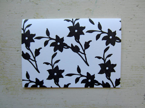 lily black folded notes
