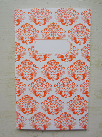 versailles orange note book