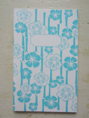 hawaiian aqua note book