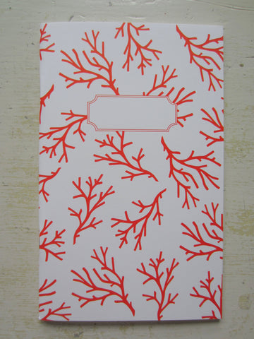 coral note book