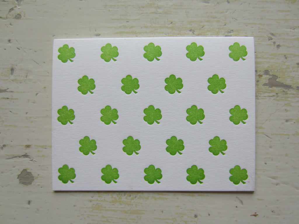 shamrock green gift card