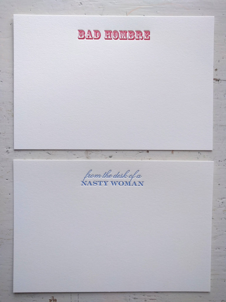 BIPARTISAN stationery