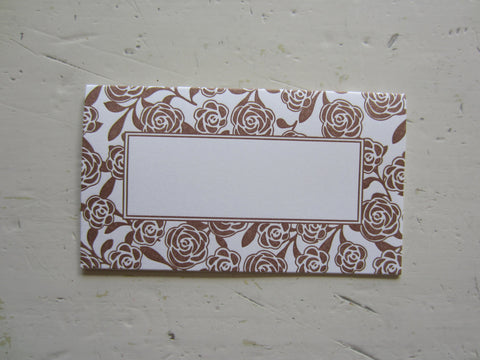 parker brown place cards