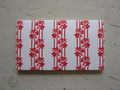 wallpaper red place cards