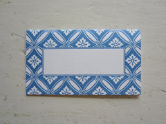chandler french blue place cards