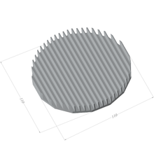 Load image into Gallery viewer, ⌀110mm(⌀4.33'') H12.5mm(0.49'') 851ASL 16sided LED Heatsink