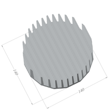 Load image into Gallery viewer, ⌀140mm(⌀5.51'') H55mm(2.17'') 665ASL 16sided LED Heatsink