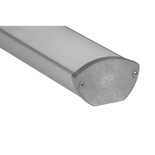 Oval Suspended Linear LED Channel - 531 (4ft/8ft)