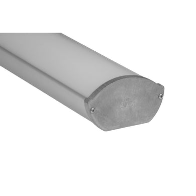 Oval Suspended Linear LED Channel - 532 (4ft/8ft)