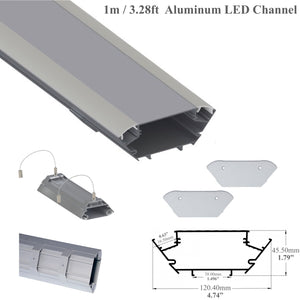 Pendant Linear Led Channel - 533 Series - Double Sided