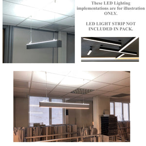 pendant fixture application led channel