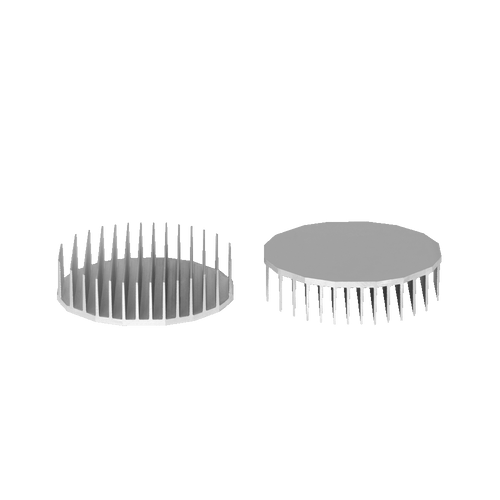 ⌀135mm(⌀5.31'') H35mm(1.38'') 660ASL 16sided LED Heatsink