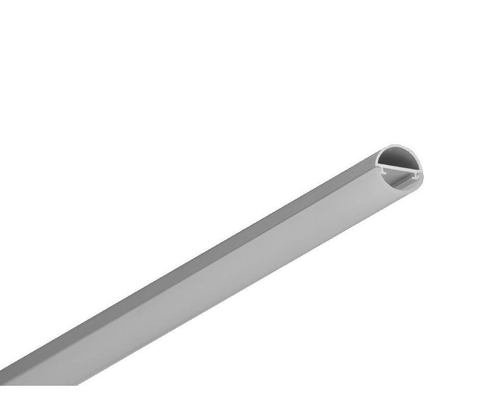 Slimline Round LED Channel Opal Diffuser