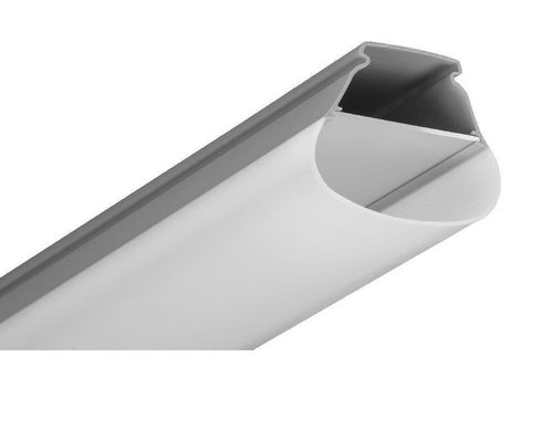 polycarbonate body led Etange fixture grey