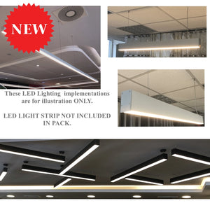 Pendant Slim Linear Led Channel - 535 Series