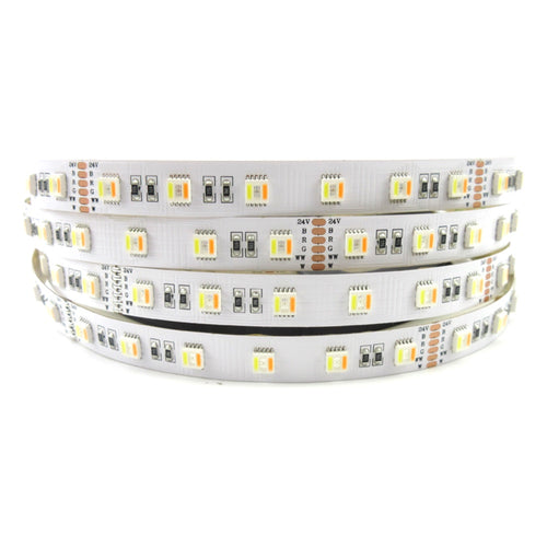 RGBWW Multicolor & White 11Watt/ft 24V 16ft (5m)