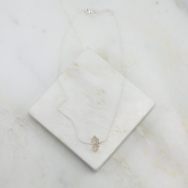 Portal of Light Herkimer Diamond Pendant