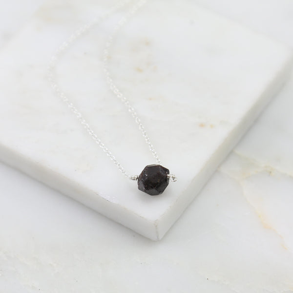Portal of Light Garnet Pendant