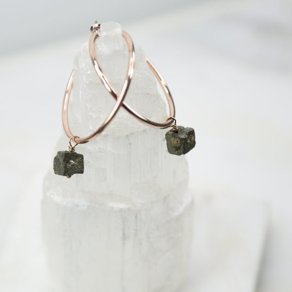 Portal of Light Large Pyrite Hoop