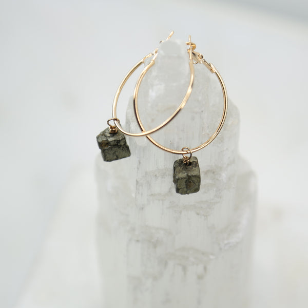 Portal of Light Pyrite Hoop