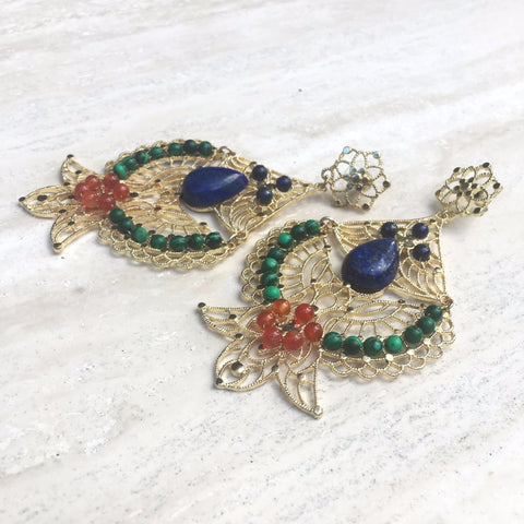 Goddess Isis Statement Earring