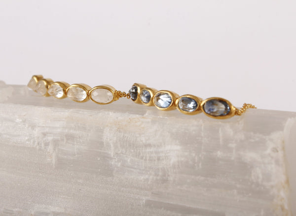 Belle Époque Moonstone Bracelet
