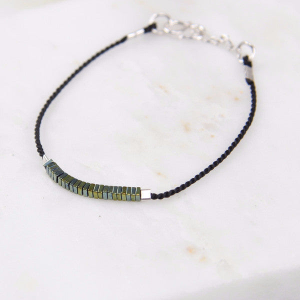 Pure Alchemy Hematite Thread Bracelet