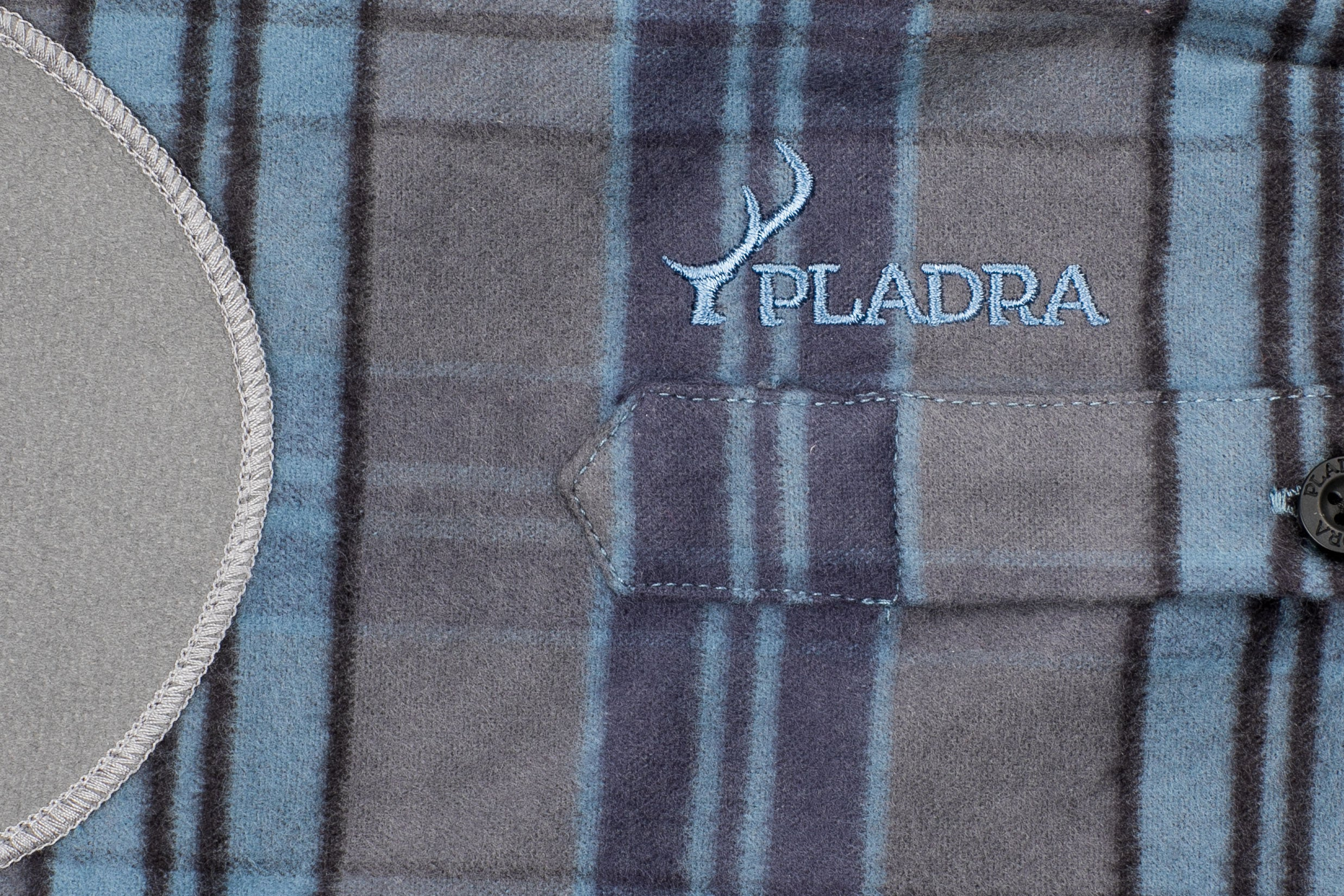 Men's Leon - Agate Blue Flannel