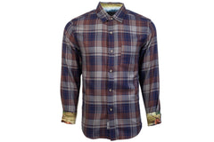 Men's Elli - Bark Brown Flannel