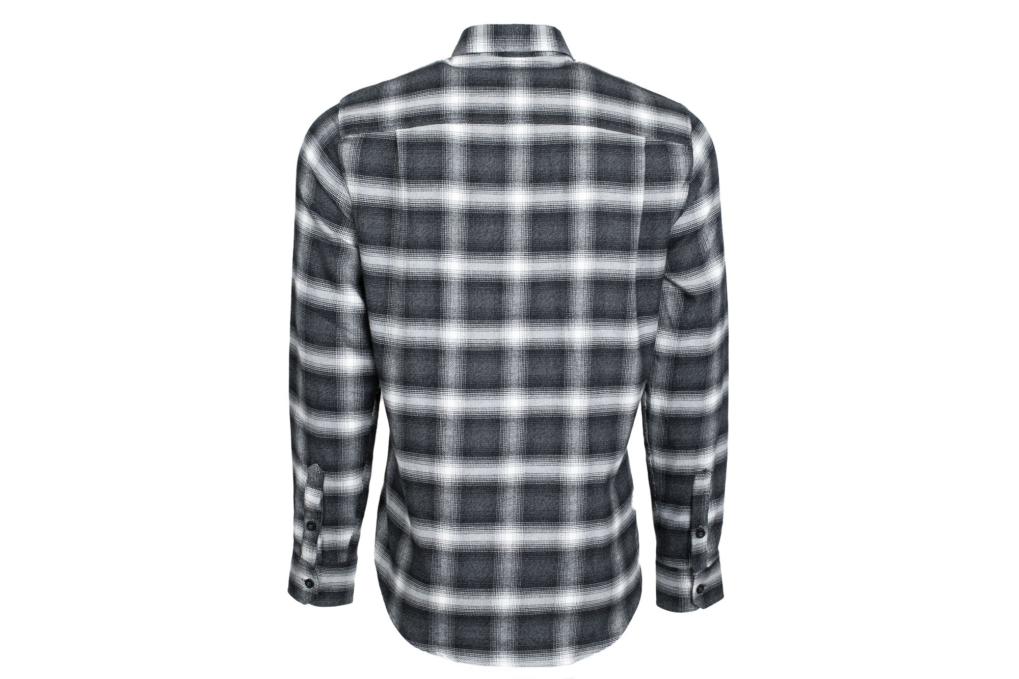 Men's Elli - Obsidian Black Flannel