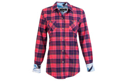 Women's Peregrine - Full Bloom Pink Flannel