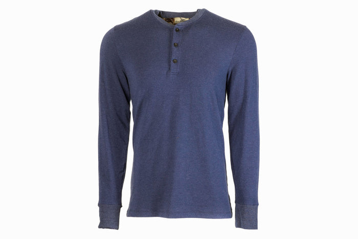 Men's Navy Henley