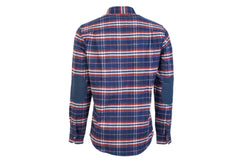 Men's Leon - Buck Blue Flannel