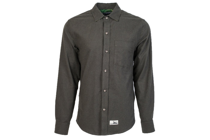 Men's Elli - Pine Heather Green Flannel