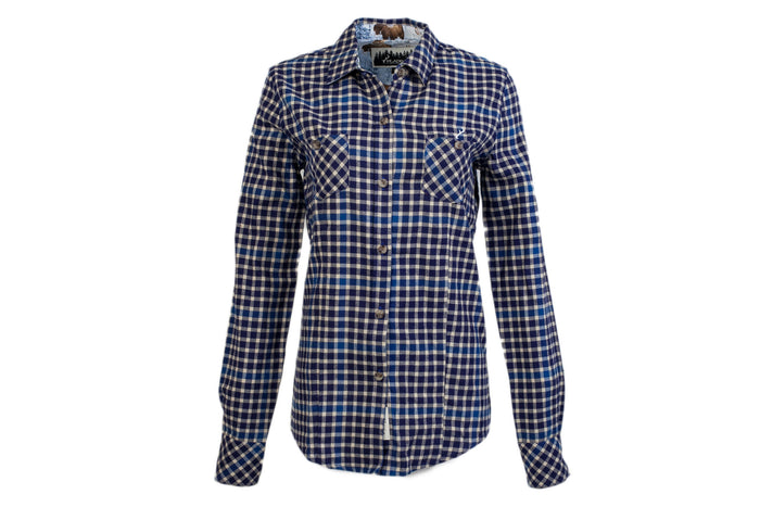 Women's Peregrine - Deep Blue Flannel