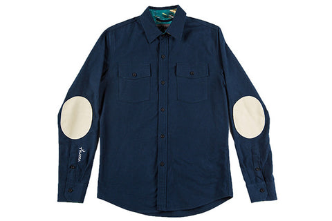 Men's Leon - Dusk Blue Flannel