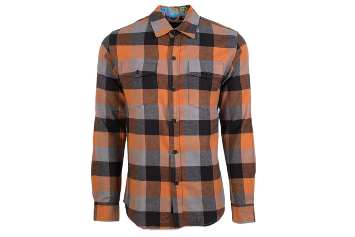 Men's Leon - Giant Orange Flannel