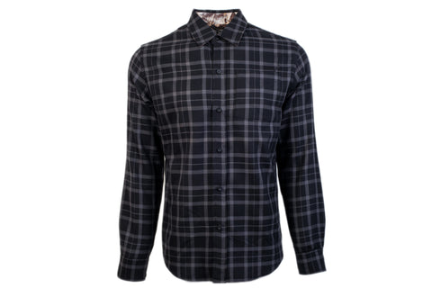 Men's Elli - Granite Black Flannel