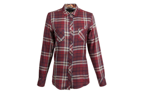 Women's Peregrine - Harvest Red Flannel