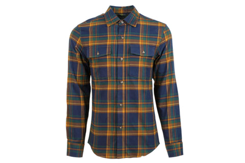 Men's Leon - Hedge Blue Flannel
