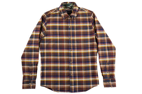 Men's Elli - Lassen Brown Flannel
