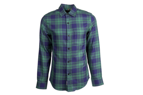 Men's Elli - McCloud Green Flannel