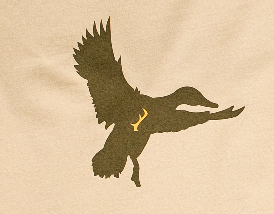 Men's T-Shirt - Tan Duck