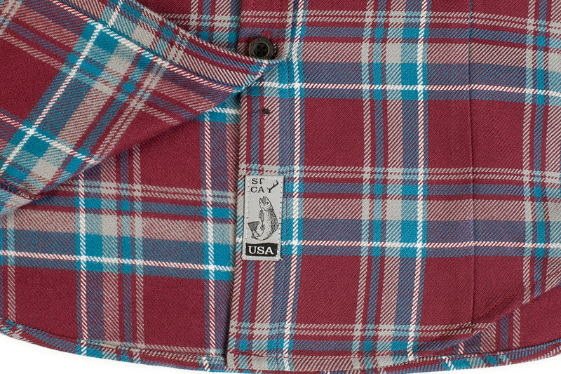 Women's Peregrine - Mountain Maroon Flannel
