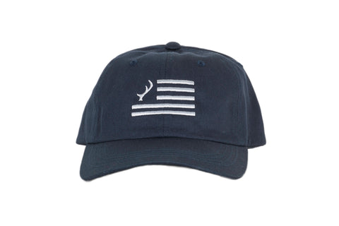 Navy Flag logo Dad Hat