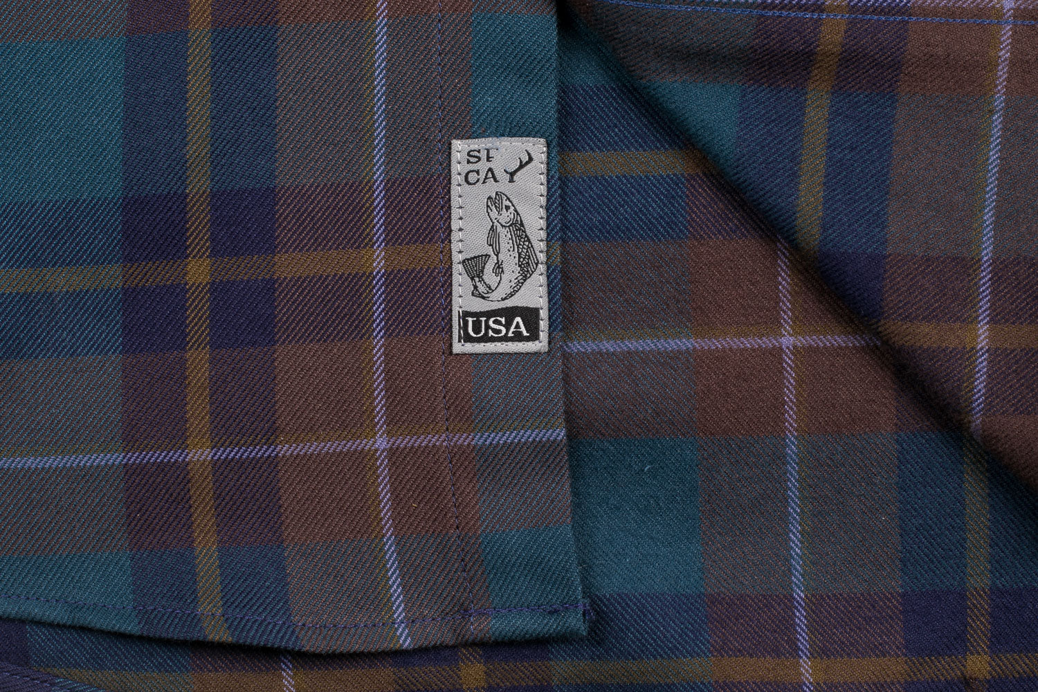 Men's Elli - Olympic Brown Flannel