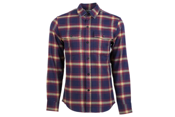 Men's Leon - Putnam Blue Flannel
