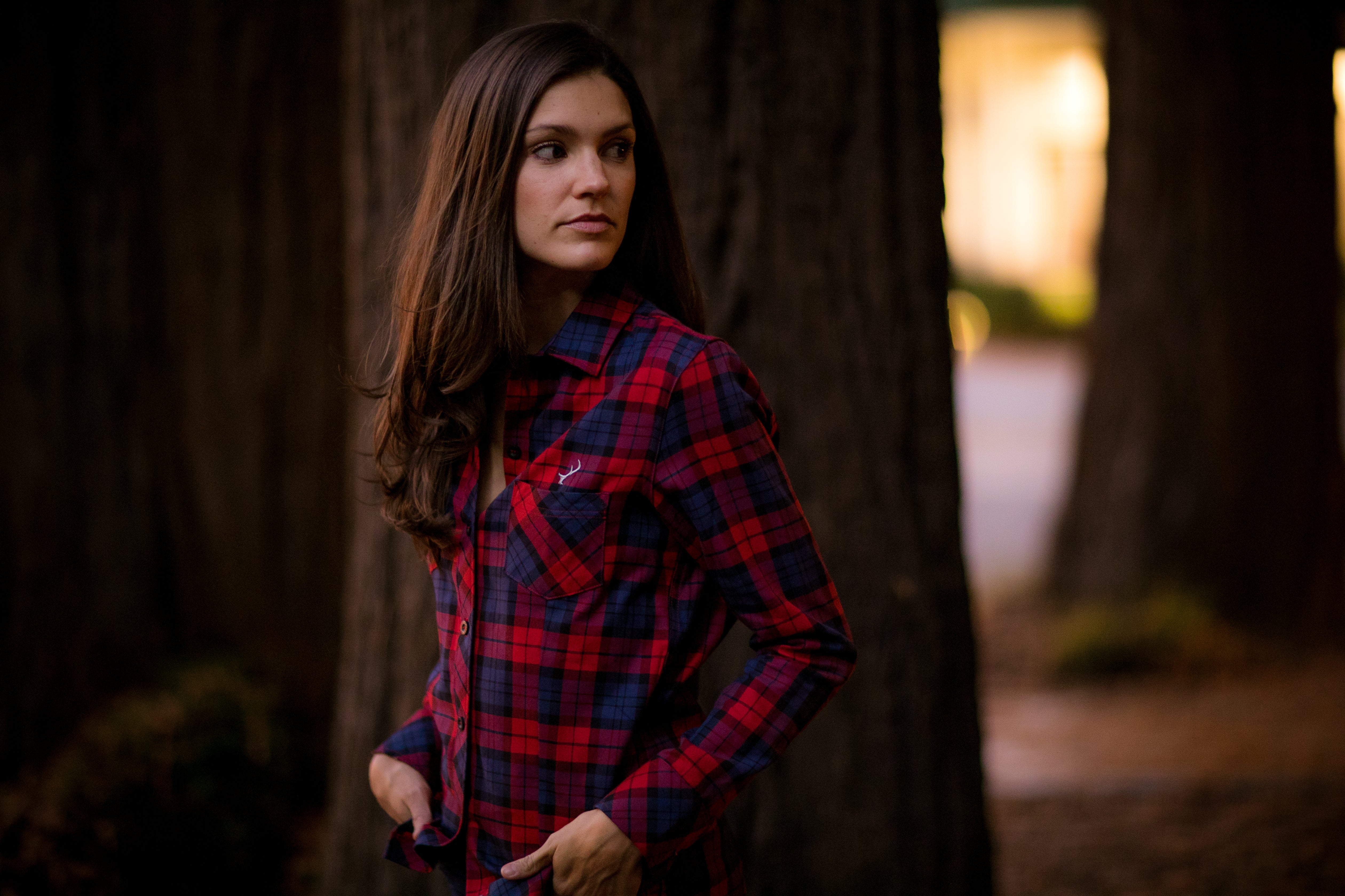 Women's Peregrine - Maple Red Flannel