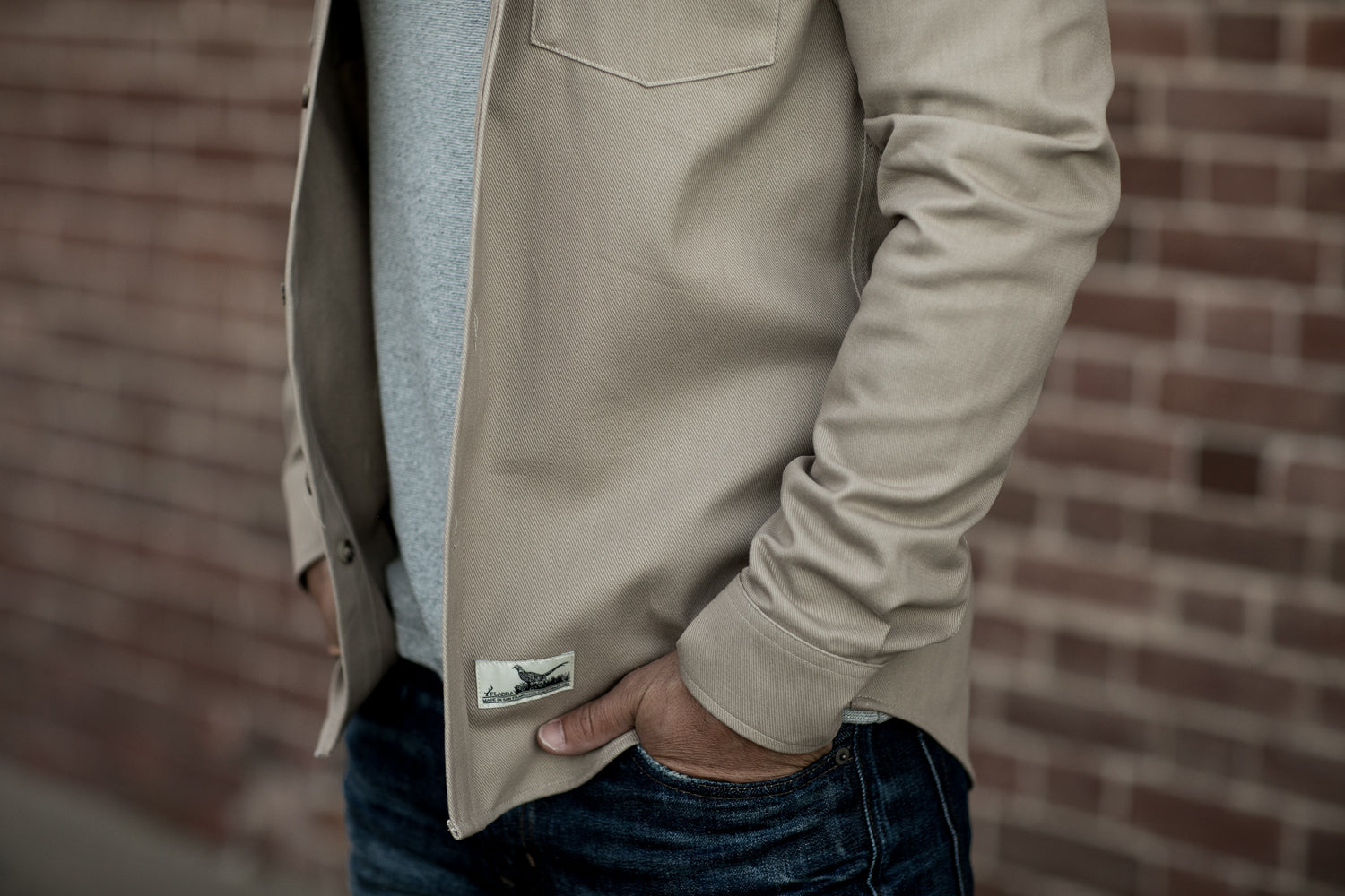 Men's Sequoia Overshirt- Oak Tan